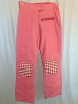 Vintage Sportcaster Ski Fashions Insulated Ski Pants Womens Medium Salmo... - $37.99