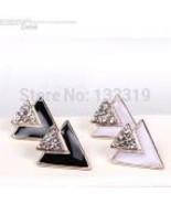 Jewelry, vintage Crystal Earrings - $5.99