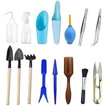 Wesdxc 15 Pieces Succulent Plants Tools, Mini Garden Hand Tools Transpla... - $10.15