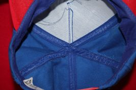 Vintage MARK MARTIN #6 Racing Blue Red Snapback HAT CAP Made In USA NASCAR image 5