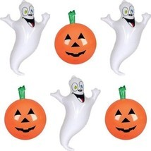 Inflatable Halloween Decorations Set - 3 Pumpkin Inflates + 3 Ghost Infl... - ₨2,289.08 INR