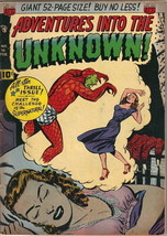Adventures Into The Unknown Comic Book #16, ACG 1951 VERY GOOD+ - $78.29