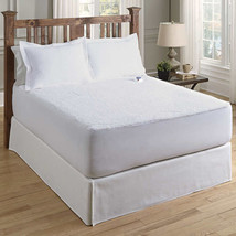 InvisiWire Sherpa Plush Low Voltage Heated Electric Warming Mattress Pad... - $149.99