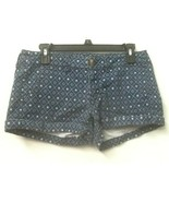 Women's AMERICAN EAGLE SHORTS blue print Size 4 Shortie Stretch shorts - $12.95