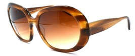 Oliver Peoples Ballerina SYC Women's Sunglasses Brown Stripes / Gradient JAPAN - $68.21