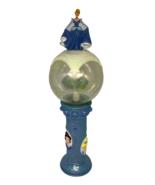 Disney Princess Cinderella Snow White Ariel Spin Light Up Wand Disneyworld Blue - $14.84