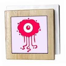 3dRose nh_224434_1 Pink Eye Critter Funny Looking Monster Kids Decor Pink - $11.49