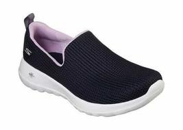 Women's Skechers GOwalk Joy Centerpiece Slip-On Walking Shoe Navy/Lavend... - $79.67