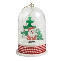 Christmas Led Lamp Light Hanging Ornaments Santa Claus Snowman Xmas Deco... - $16.82