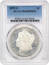 1879-S $1 PCGS MS65 DMPL - Frosty, White DMPL - Frosty, White DMPL - $1,231.90