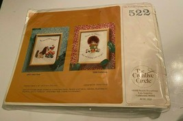 Vintage The Creative Circle Cross Stitch Kit NOS Model 522 Patience Girl - $10.88