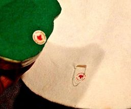 Ceramic Hat and Kitten Set AA18-1250 Vintage CANADA image 7