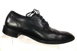 Cole Haan Men's Oxfords Size 10 M black split toe dress lace up shoes - $42.87