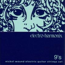 ELECTRO HARMONIX NIC9 NEW PREMIUM ULTRA LIGHT NICKEL WOUND GUITAR STRING... - $4.97