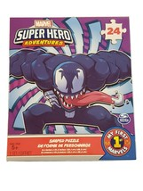 Marvel Super Hero Adventures Venom Jigsaw Puzzle 24 Pieces New - $5.34