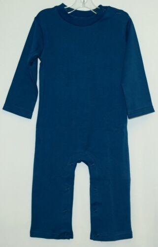 Blanks Boutique Boys Long Sleeved Romper Size 18 Months Color Blue