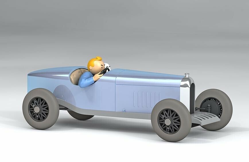 The Amilcar from Soviets 1/24 model car Tintin in the land of soviets 2019