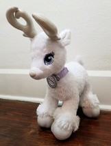 Build-A-Bear White Glisten Reindeer plush with Light Up Antlers - $13.54