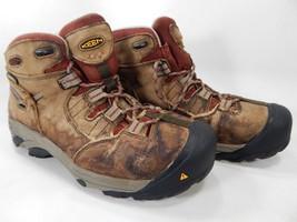 Keen Detroit Mid Top Size 10 M (B) EU 40.5 Women's Steel Toe Work Shoes 1007014