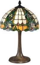 Table Lamp DALE TIFFANY ASURE 2-Light Antique Brass - $289.99