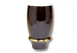 Japanese Sake beer glass cup Arita porcelain Angel ring Gold 350cc - $45.47