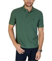 Nautica Men's Classic Fit Performance Deck Polo Shirt Pine Forest Size XS - $26.59