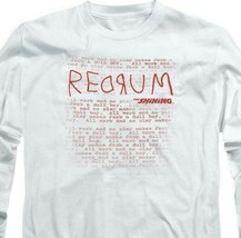 The Shining t-shirt retro 80's horror movie long sleeve graphic tee WBM563 image 2