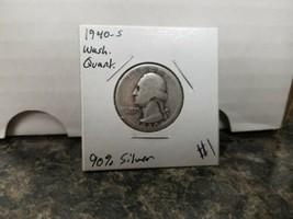 1940-S Washington Silver Quarter!!! Nice Coin!!! 90% Silver!!! - $6.93