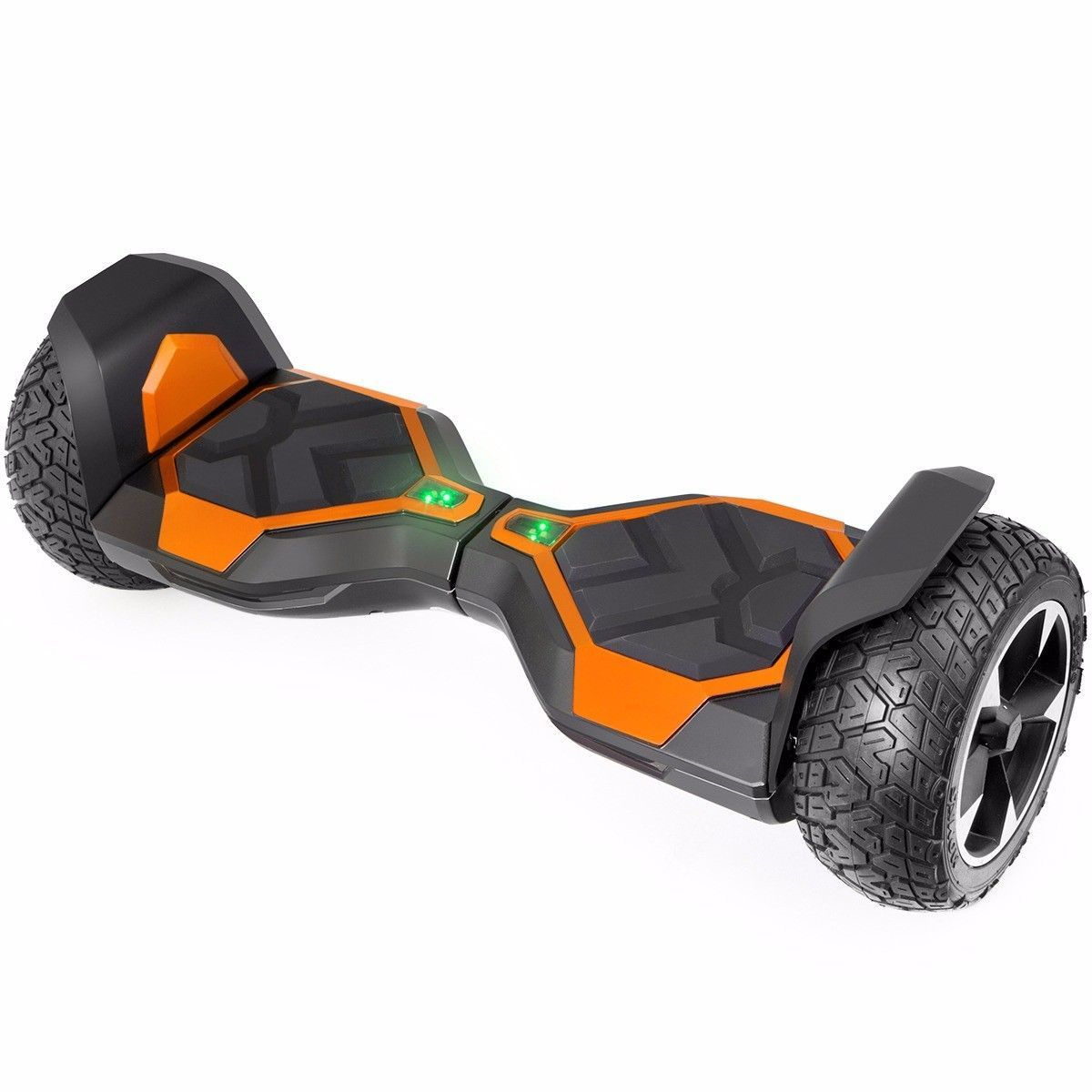 "Orange All Terrain 8.5"" Bluetooth Off Road Hoverboard High Speed Scooter"