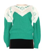 Christine 1980's Vintage Beaded Simulated Pearl Sweater Size S - $49.99