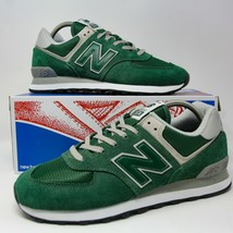 New Balance Nb 574 Scarpe Corsa Verde Foresta ML574EGR Misura 11 Eur 45 UK 10.5 - $124.06