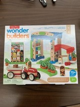 Fisher-Price Wonder Makers Design System Build Around Town Starter Kit A... - $32.68