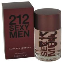 212 Sexy By Carolina Herrera After Shave 3.3 Oz 446998 - $46.34