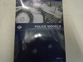 2011 Harley Davidson Flhtp Electra Glide Police Models Service Manual Supplement - $138.55