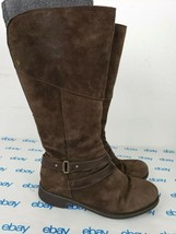 The North Face Knee High Brown Leather Women's Tall Insulated Boots Size 10 - €54,77 EUR