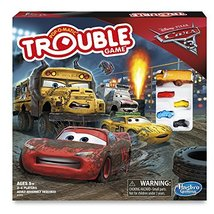 Cars 3 Trouble Board Game - $12.50