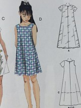 Mccalls Sewing Pattern 6098 Girls Dresses In Two Lengths Size 7-10 New - $17.46