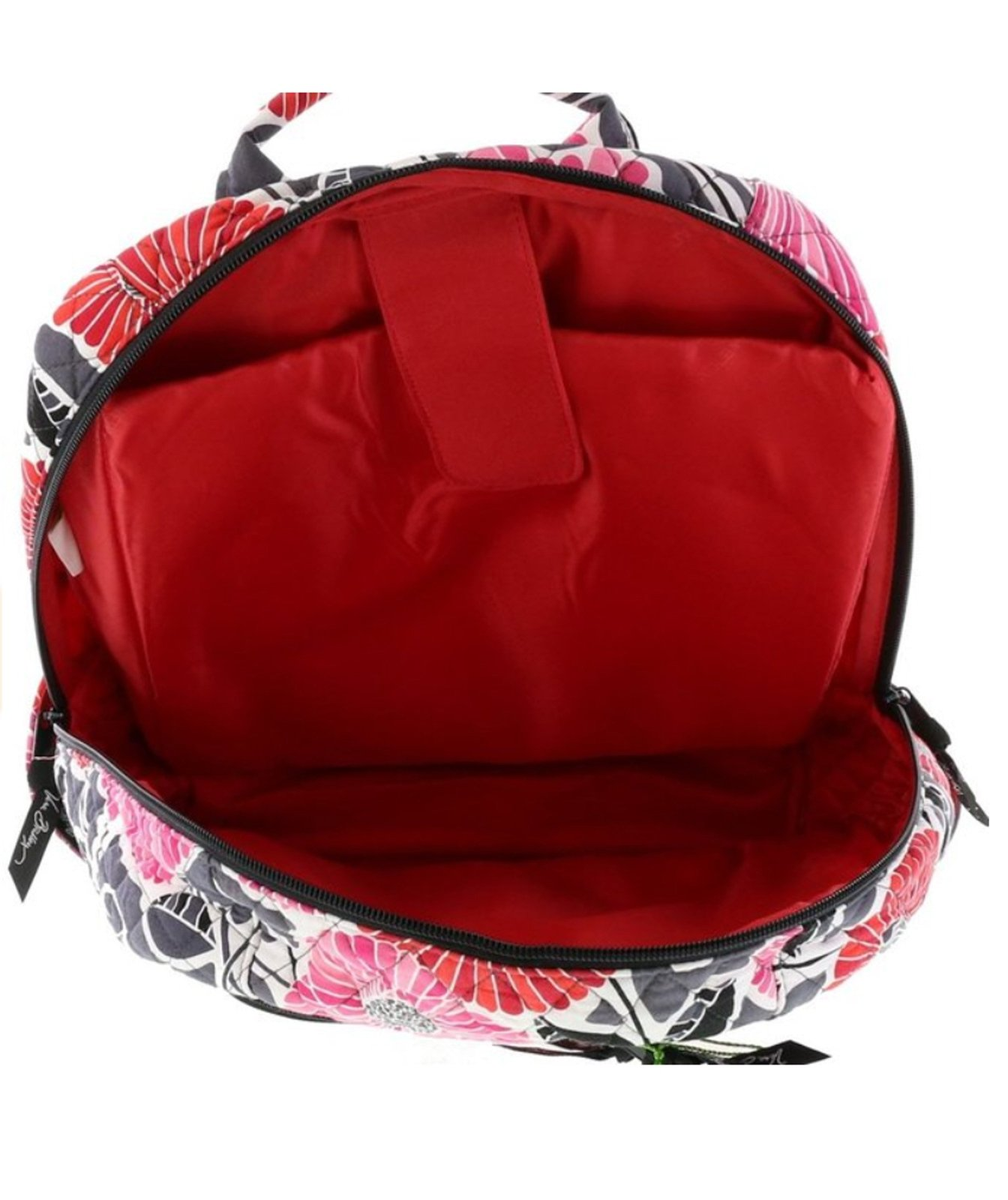 Vera Bradley Laptop Backpack Computer School Bookbag in Cheery Blossoms