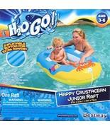 H2o Go Happy Crustacean Jr. Raft Pool Float Floaty Inflatable Tube Swimm... - $14.99