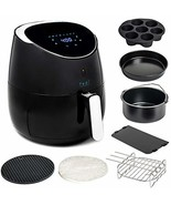 Yedi Total Package XL Air Fryer, Deluxe Accessory Kit, 100 Recipes Inclu... - $104.88