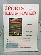 Sports Illustrated August 20 1956 Second Anniversary Issue vintage - $14.84