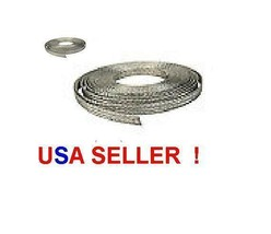 """25 FOOT 3/4"""" wide flat copper GROUND BRAID Wire 19mm Electrical Groundin... - $29.69"""