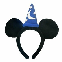 New Mickey Mouse Fantasia Sorcerer Hat Hair Accessory Disney Japan - $51.41