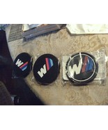 5#K   Auto Cup Holder Coasters Black W Logo 2-Pack Fits Small & Large Size - $7.91