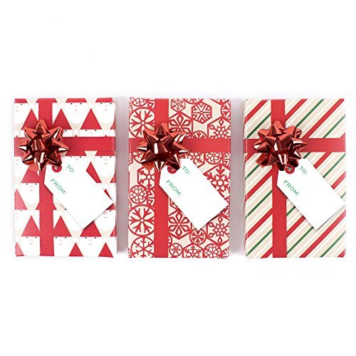 Primary image for Hallmark Holiday Gift Card Holders, Red Pack of 3