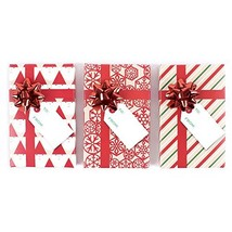 Hallmark Holiday Gift Card Holders, Red Pack of 3 - $6.77