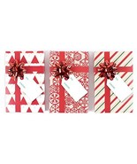 Hallmark Holiday Gift Card Holders, Red Pack of 3 - $9.10