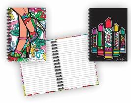 Spiral Bound Glitter Cover Hardback Notebook Set (2 Notepads Total) 8 1/... - $9.79