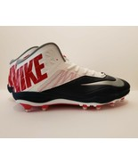 Nike Zoom Code Elite 3/4 TD Mens 18 Football Cleats Shoes Red White Blue - $53.30