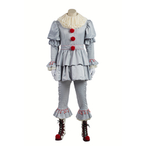 Pennywise Scary Clown high quality Cosplay Costume customize Halloween c... - $193.00